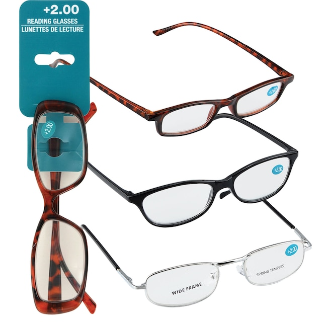4c3658a08a01 View Fashion Reading Glasses with +2.00