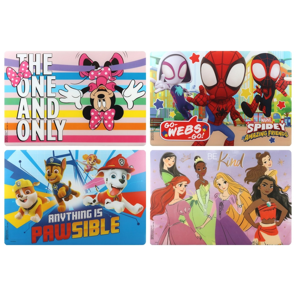 0c391a41073a1 Licensed Character Plastic Placemats