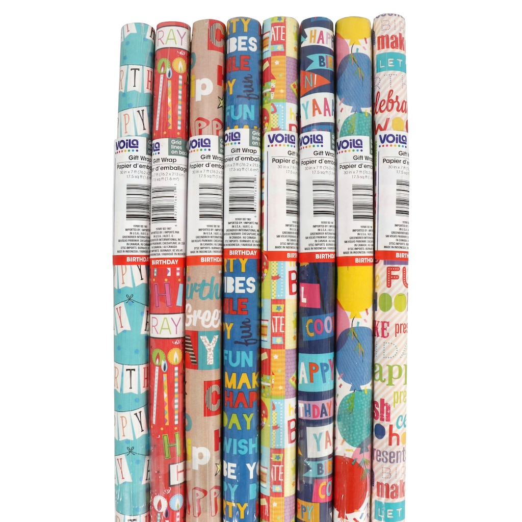 Display product reviews for Viola Birthday Wrapping Paper for Kids eb825902be7b