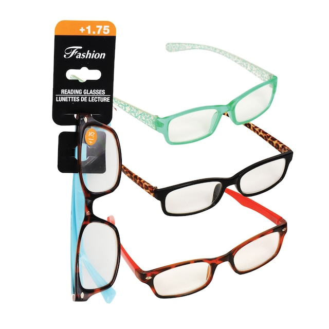 e6ae1d2e4551 View Stylish Reading Glasses with +1.75