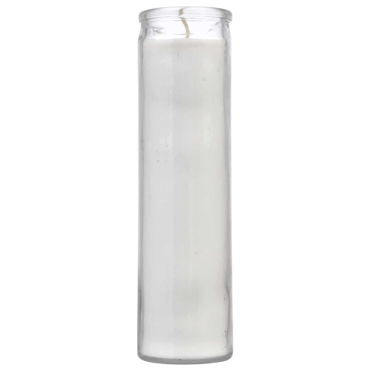 7 DAY UNSCENTED CANDLE IN GLASS GOLD