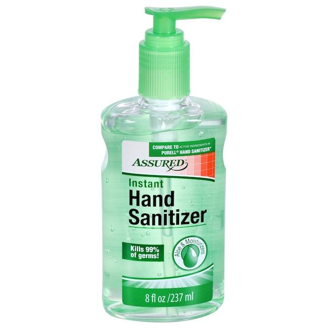 dollartree com assured hand sanitizer with aloe 10 oz bottles