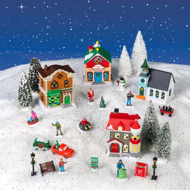 Christmas Village.Cobblestone Corners 2019 Christmas Village Collection