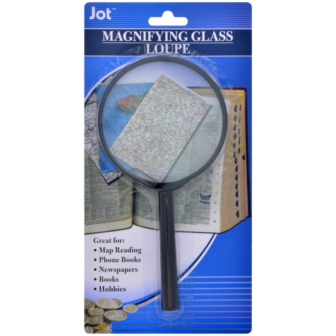 6e5bd988283d Jot Black Plastic Magnifying Glasses