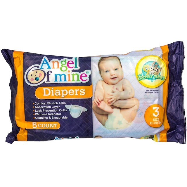 9b507a8d213 View Size 3 Disposable Diapers with