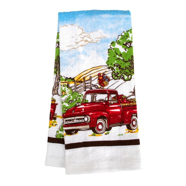 Home Collection Rooster-Themed Kitchen Towels, 15x25 in.