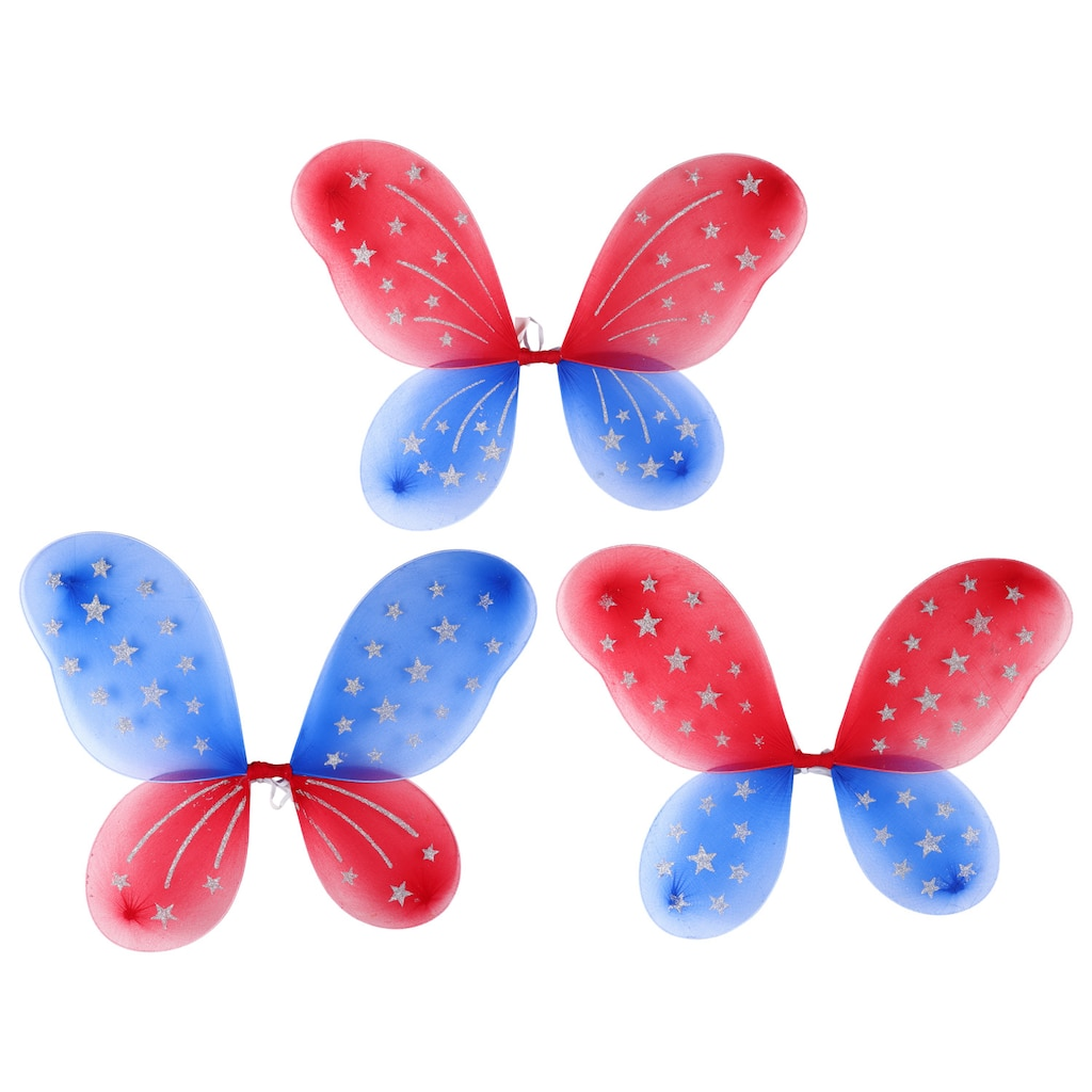 Patriotic Fairy Wings