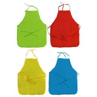 53bdb6ef View Crafter's Square Colorful Polyester Aprons