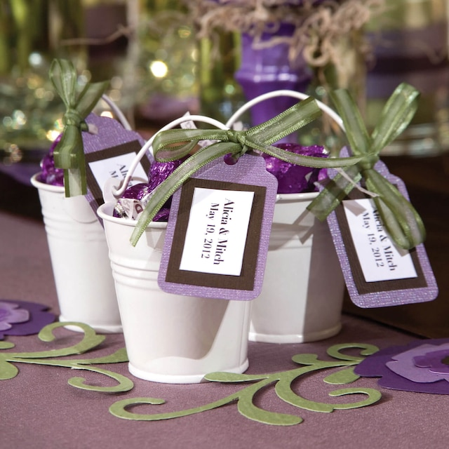 Dollartree Bulk Wedding Idea Tin Pail Favors