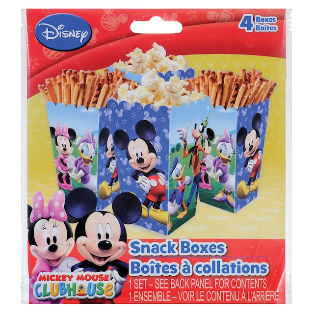 Disney Mickey Mouse Clubhouse Snack Boxes, 4-ct  Packs