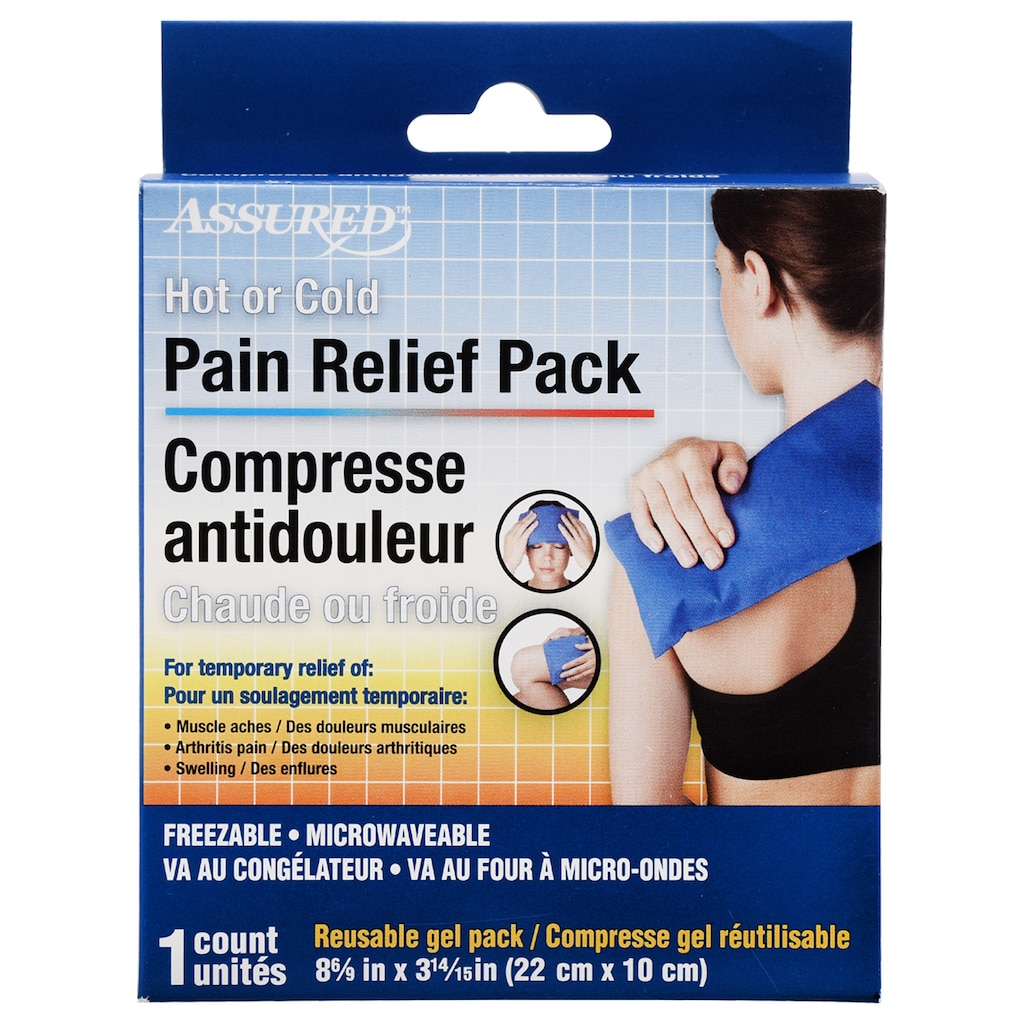Assured Hot or Cold Reusable Pain Relief Packs