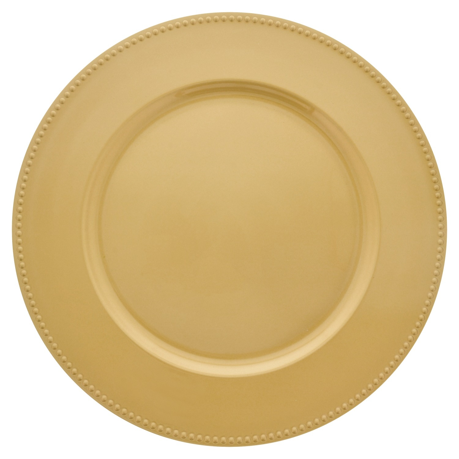 dollartree | bulk bulk gold plastic charger plates with beaded