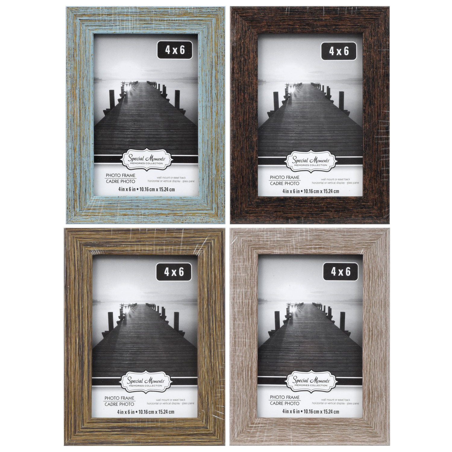 Magnetic Photo Booth Frame fit 2x6 picture Magnet frame 100 pack magnetic frame