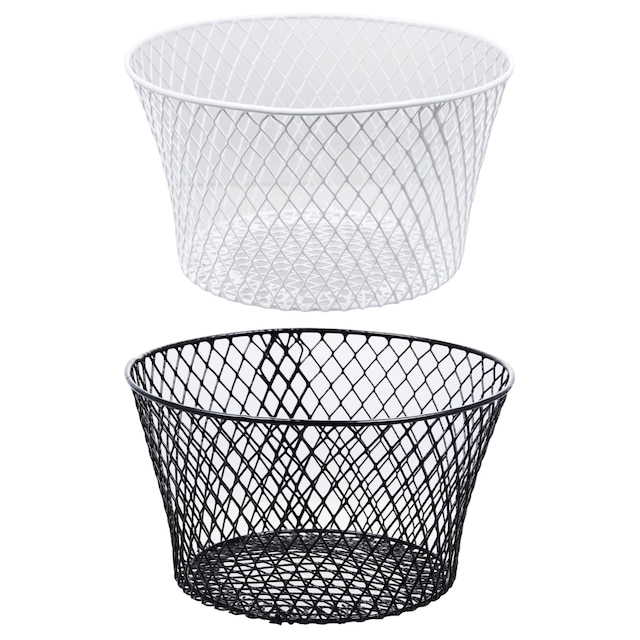 Dollartree Com Bulk Round Plastic Coated Wire Baskets