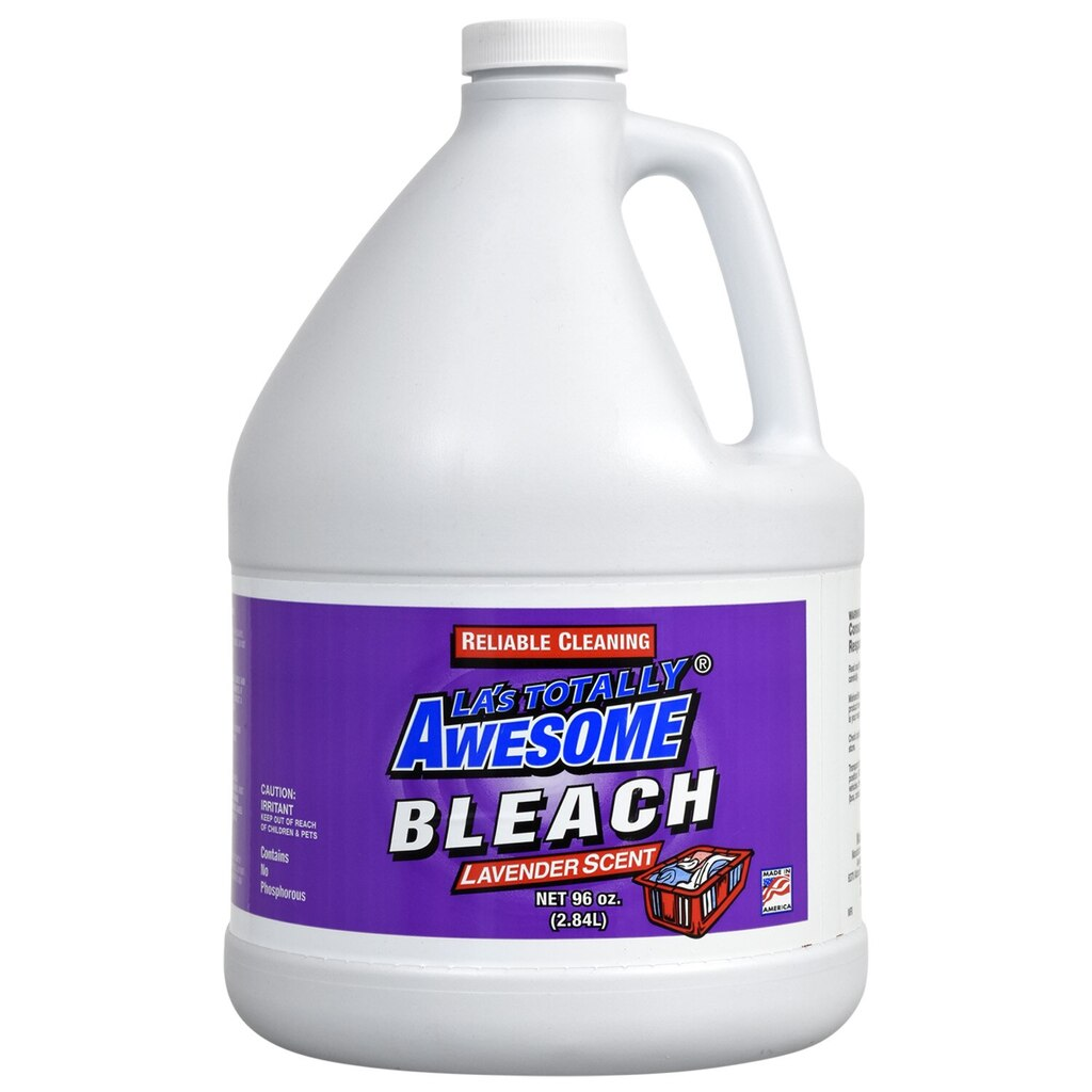 LA's Totally Awesome Bleach with Lavendar Scent, 96-oz  Bottles