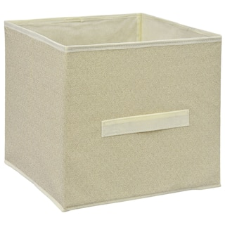 Bulk Essentials Tan Collapsible Storage Containers With Handles Dollar Tree