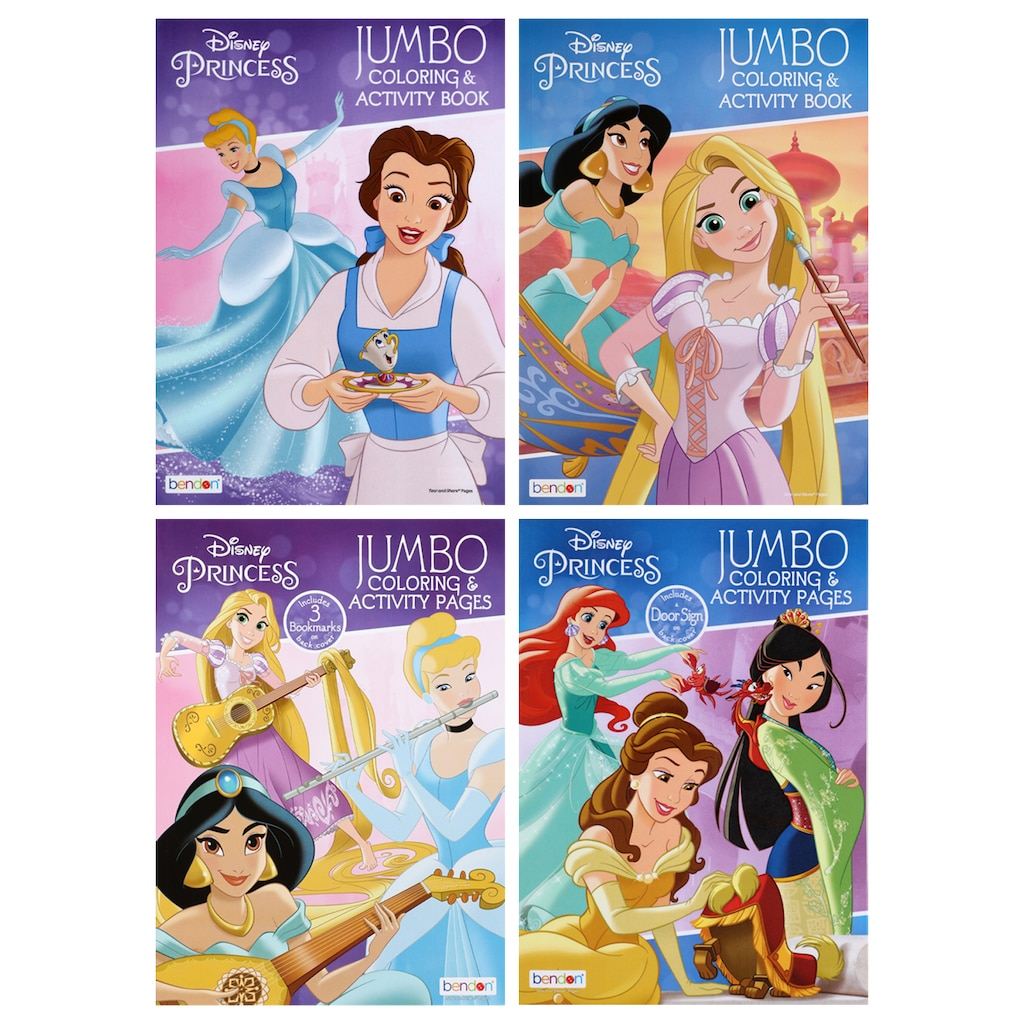 Disney Princesses Color And Play 96 Pg Jumbo Activity Books