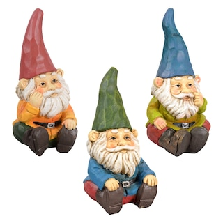 Bulk Garden Gnome Figurines Dollar Tree