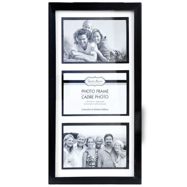 DollarTree.com | Special Moments Black 3-Picture Collage Frames