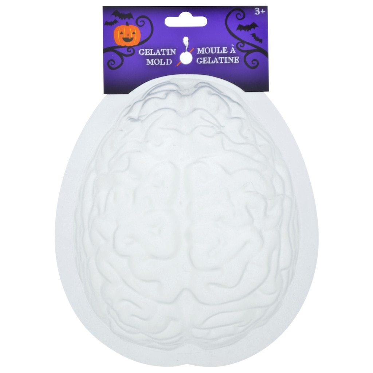 Brain-Shaped Gelatin Molds