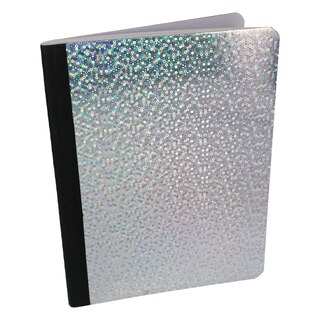 Holographic Composition Notebooks 100 Pages