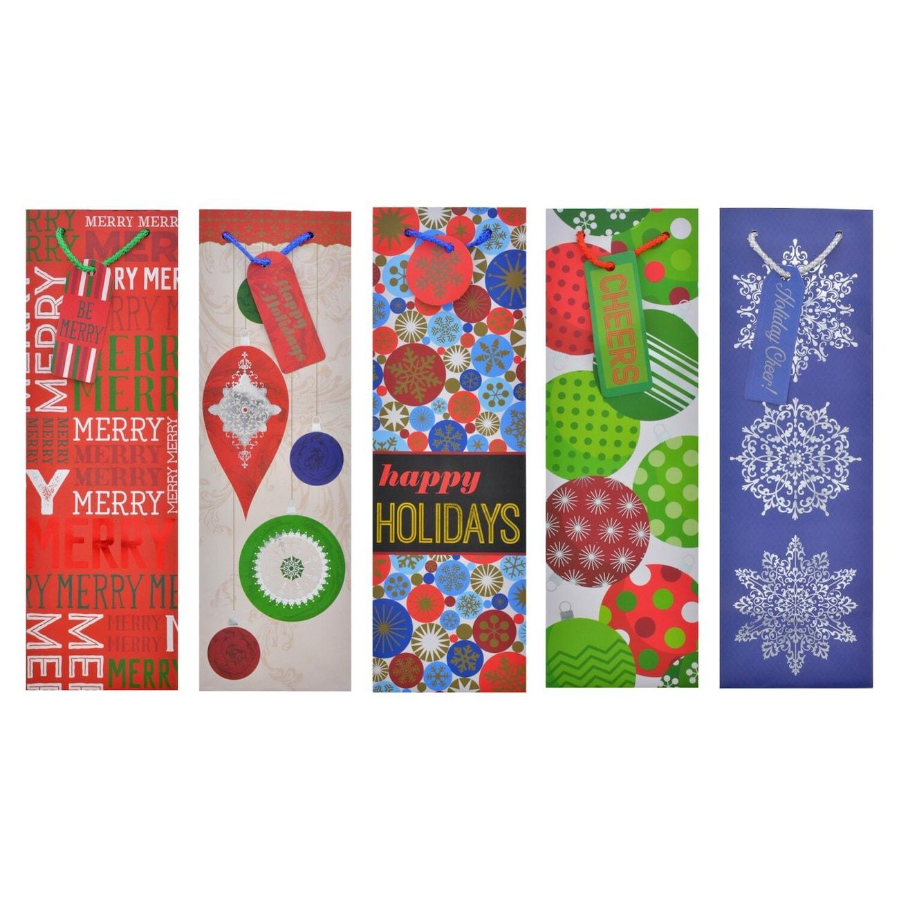 Christmas Bottle Gift Bags - Dollar Tree, Inc.