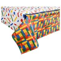 Bulk Building Blocks Party Plastic Table Covers Dollar Tree