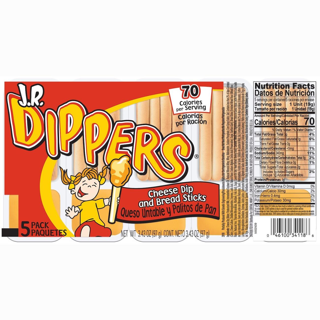 23945f09c2d5 J.R. Dippers Cheese Dip   Sticks