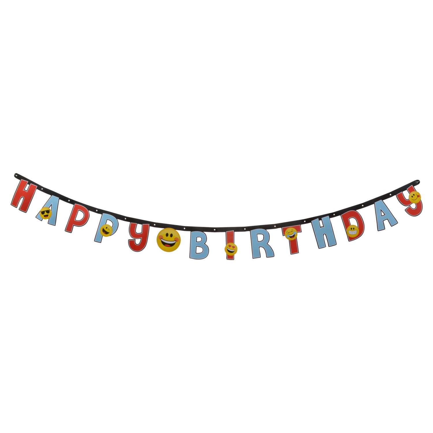 emoji happy birthday letter banners 7 ft