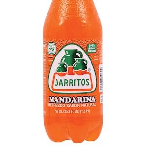 Jarritos Mandarin Soda, 25 4 oz  Bottles