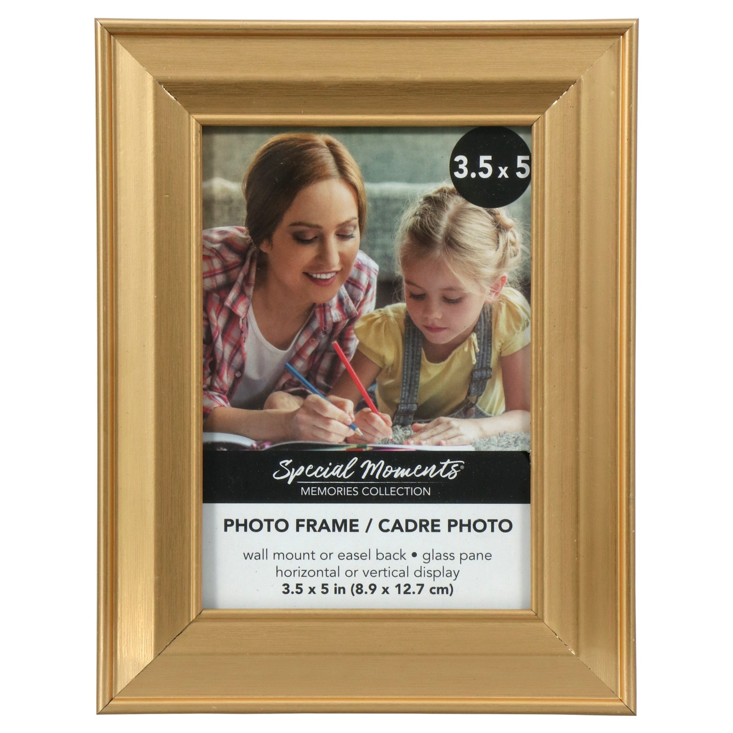 ac9f4e997dee Special Moments Wide Edge Gold Plastic Photo Frames