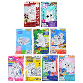 243934 Pop Outz Take N Play Licensed Activity Kits
