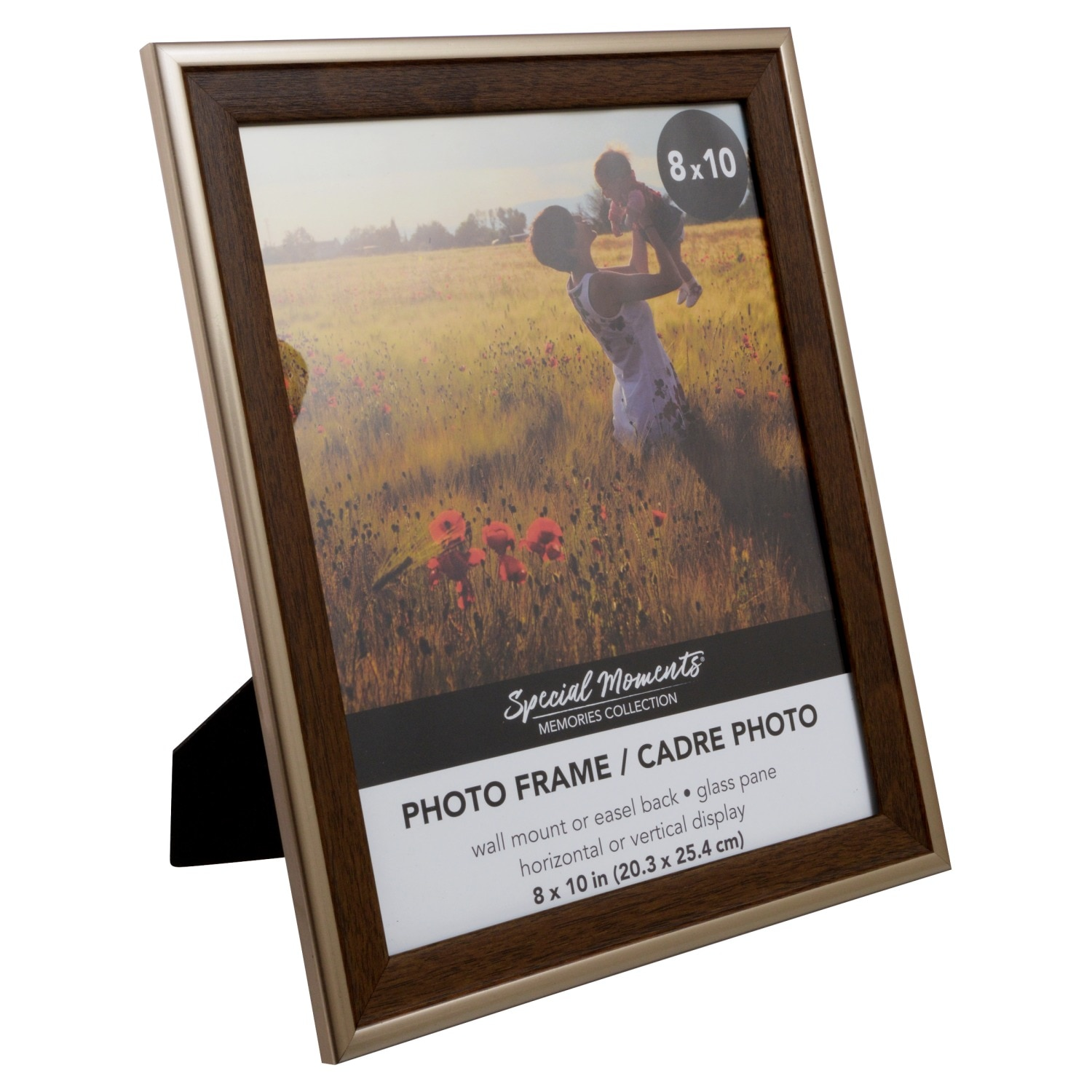 415ae56ea8aa Special Moments Wood-Look Frames with Plastic Bronze Borders