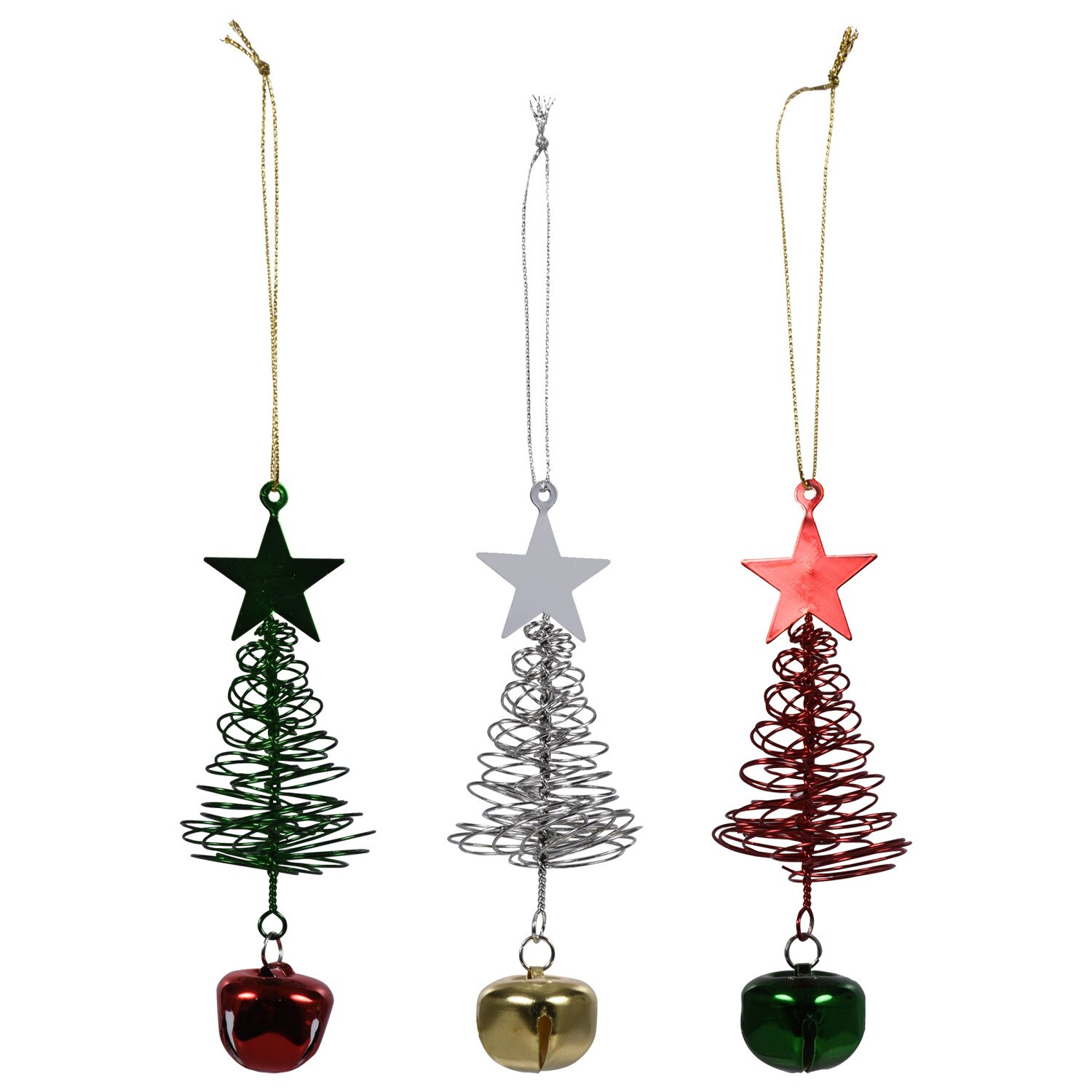 6//10PCS Christmas Ornament Tree Glitter 3D Butterfly Hanging Home Xmas Decor