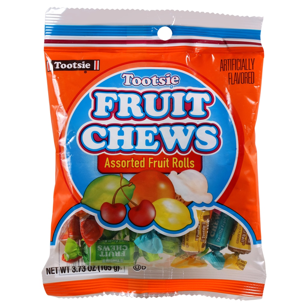 7428362dca Tootsie Fruit Chews Assorted Fruit Rolls