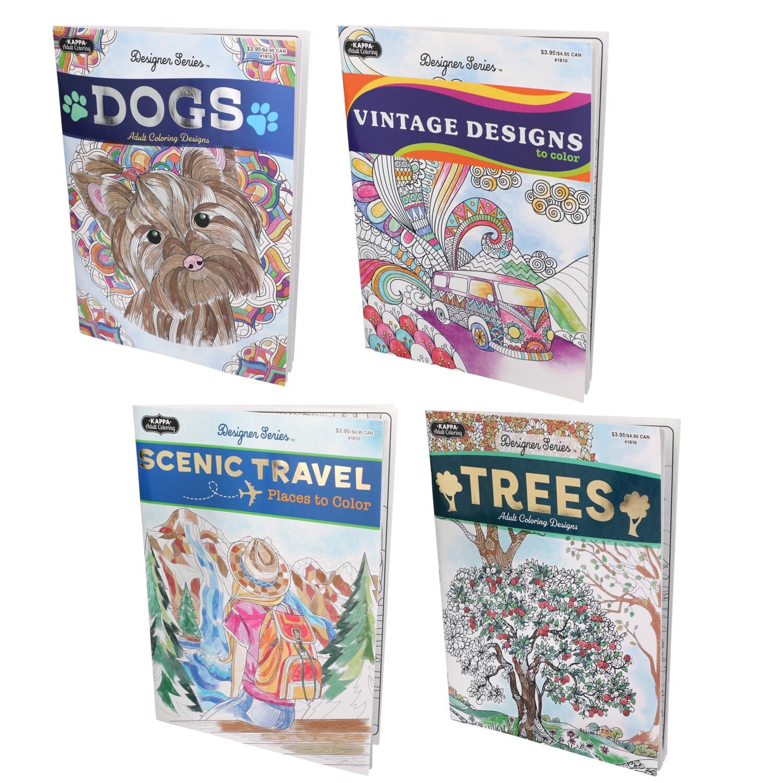 DollarTree.com | Bulk Designer Series Adult Coloring Books