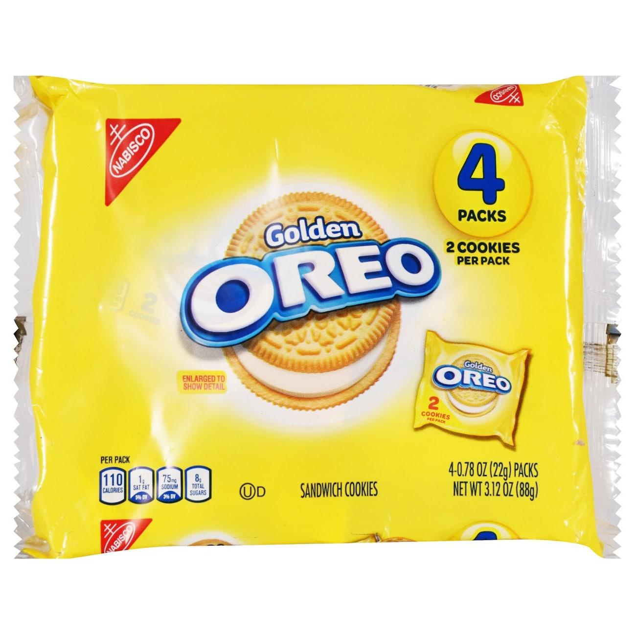 Nabisco Golden Oreo Sandwich Cookies, 3 12 oz