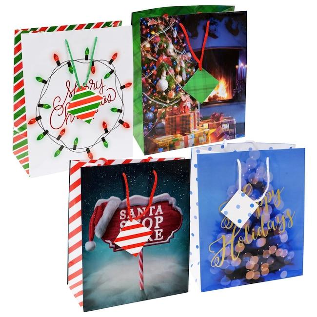 Large Whimsical Christmas Gift Bags