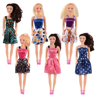 Bulk Caucasian Fashion Dolls 11 5 In Dollar Tree