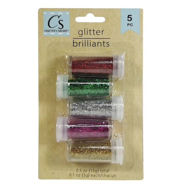 f446f90db67cb View Crafter s Square Fine Glitter Shakers