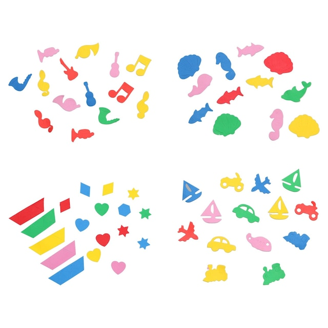 Crafter S Square Assorted Self Adhesive Foam Shapes