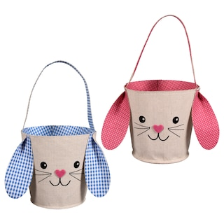 Easter Bunny-Shaped Baskets