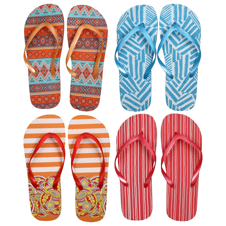 b03b08973 Ladies  Summertime Fashion Rubber Flip Flops