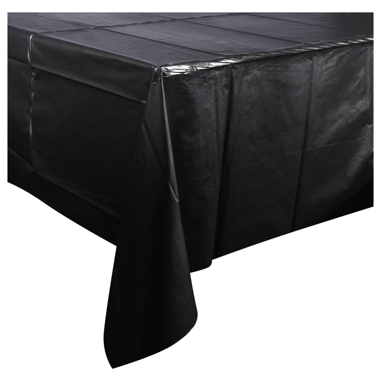 Dollartree Com Bulk Bulk Black Plastic Table Covers 54x108