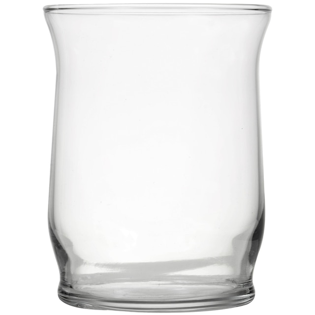 Dollartree Smooth Glass Hurricane Candleholders 4 In