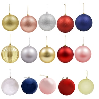 christmas house jumbo plastic ornaments new badge product w productdetails