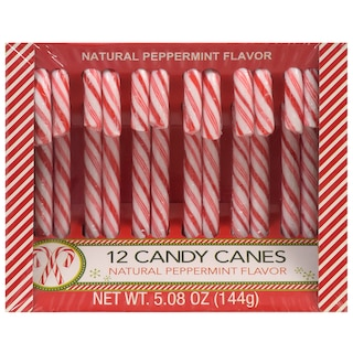View Classic Peppermint Candy Canes, 12-ct. Packs