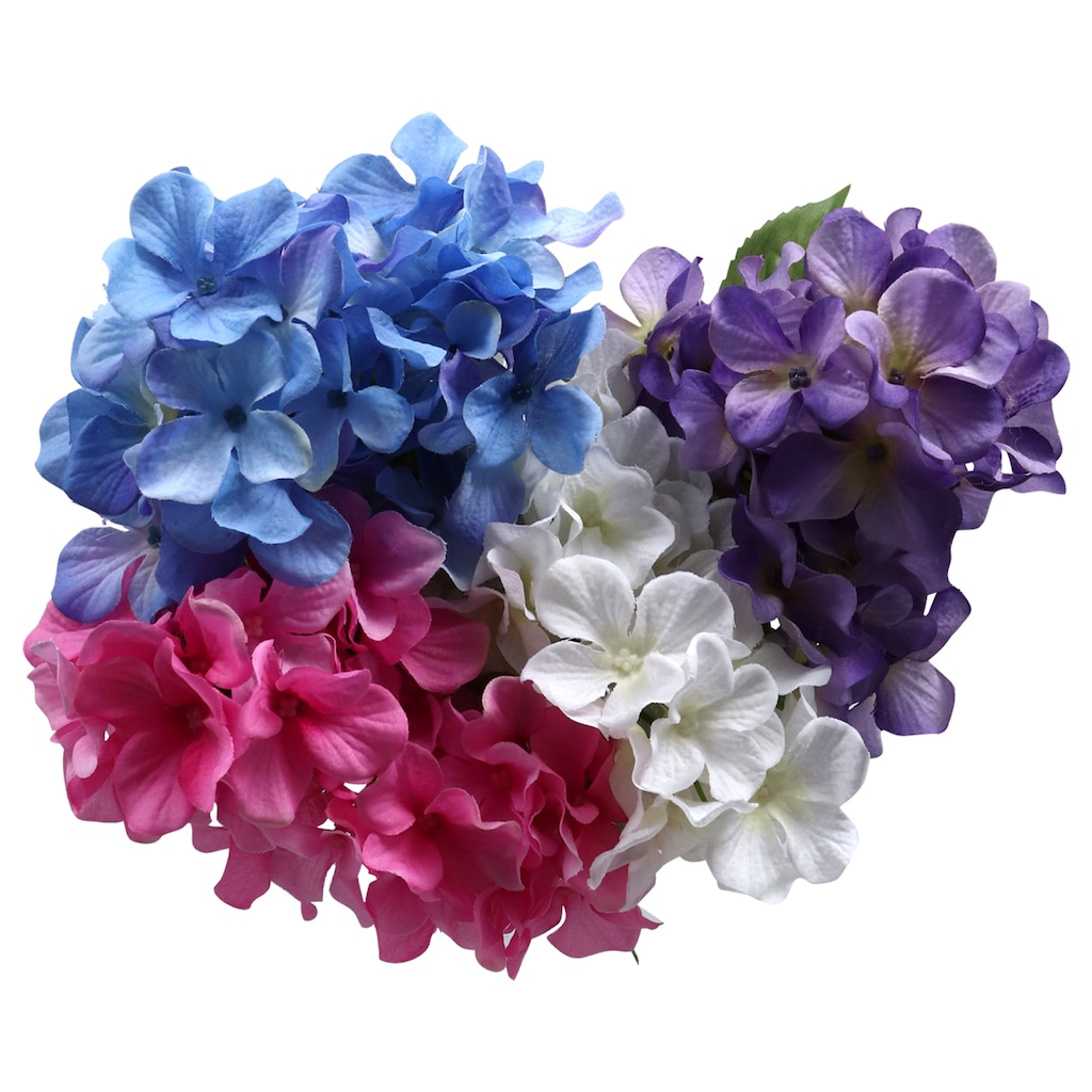 Display Product Reviews For Floral Garden 6 Stem Artificial Hydrangea Bushes 16 In