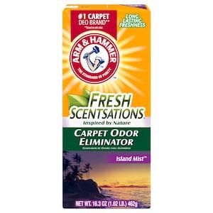 Arm Hammer Fresh Scentsations Island Mist Carpet Odor Eliminator 16 3 Oz Boxes