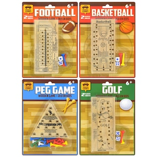 a8d31ef5ce4 View Classic Games Wooden Travel Peg